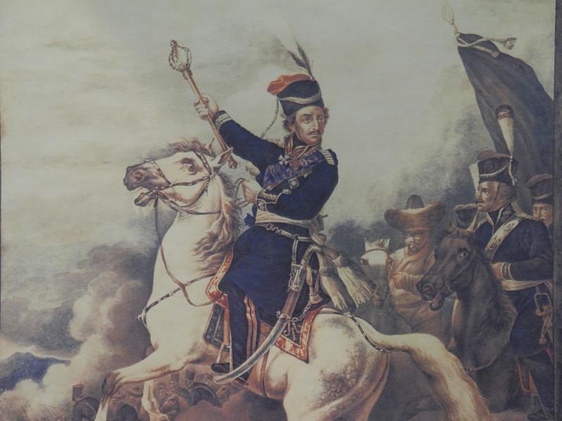 Граф Платов с войском
