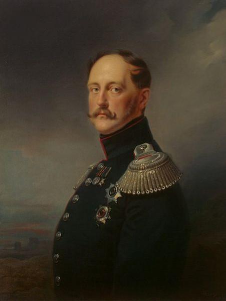 002_Франц Крюгер_Портрет Императора Николая I