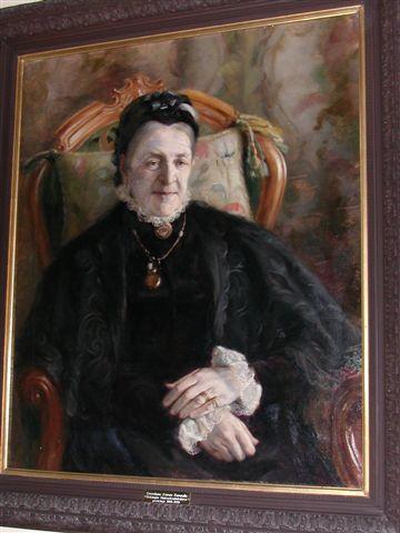 027_неизв.худ. Портрет А.К.Карамзиной в Институте Милосердия. 1890-е гг