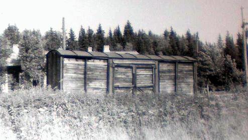 реп. 002_Вагон колеи 884 мм. Станция Урал (фото 1991 г)