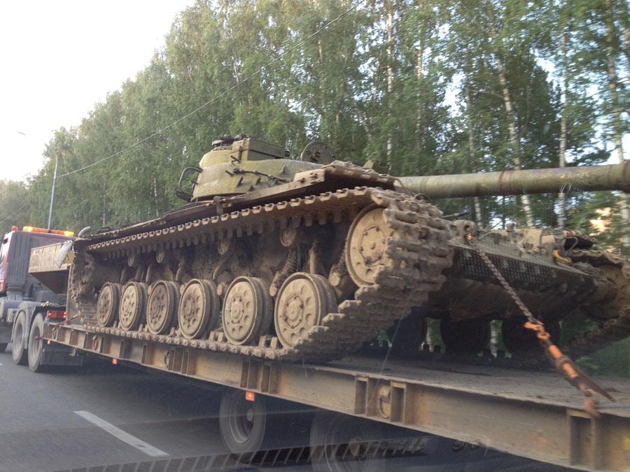 Для любителей танков на тагильских