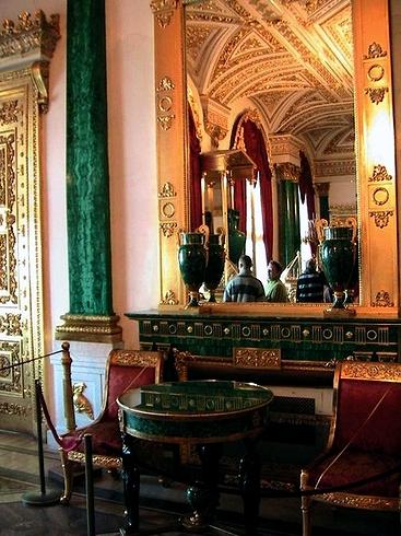 015_фрагмент малахитовой комнаты 1815