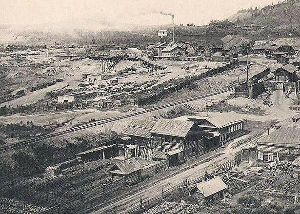 006_Северная шахта фото нач. ХХ в.