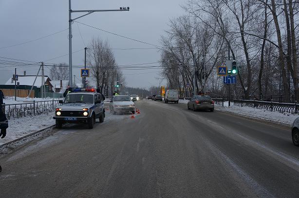 16.01.14 наезд на пешехода ул. Красногвардейская