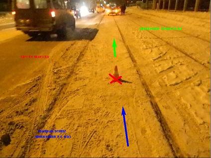 Черноисточенское шоссе 16.01.14 с одним постр-м