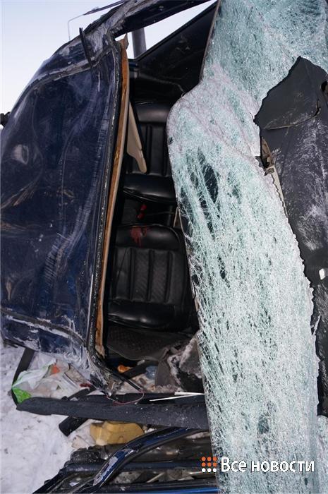 Последствия  ДТП на трассе Екатеринбург- Серов