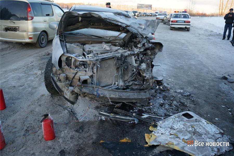 Столкновение пассажирской газели  с автомобилем Хенде