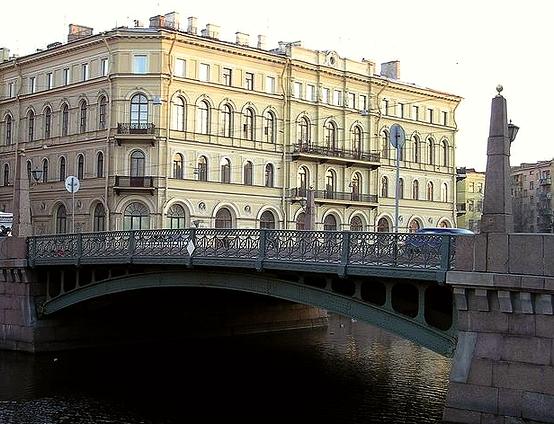008_Поцелуев мост. Река Мойка.