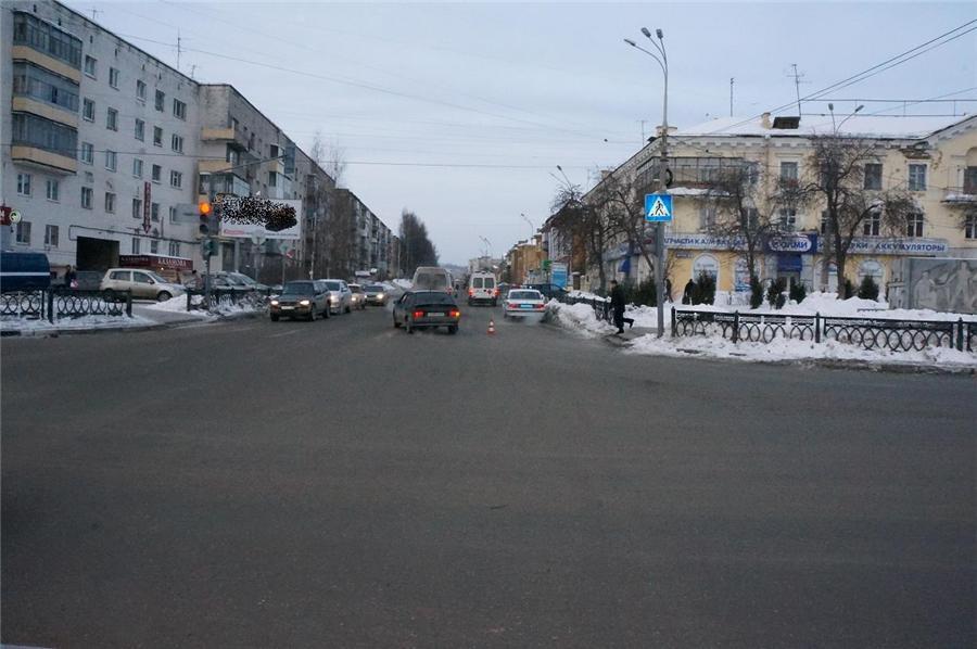 ТДП наезд на пешехода