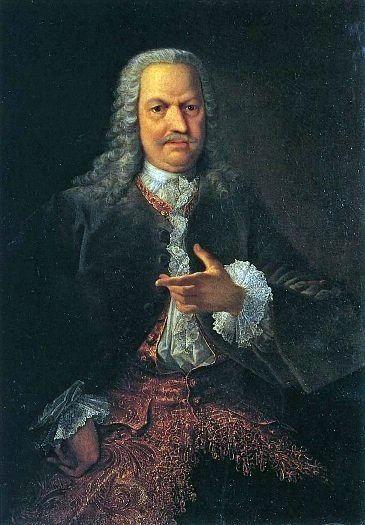 001_Георг Кристофор Гроот Портрет Акинфия Никитича Демидова. 1745 г.