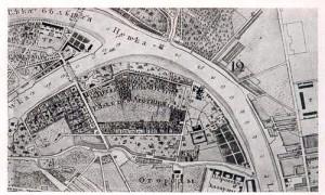 004_Императорский Ботанический сад в Санкт-Петербурге, план 1843 г