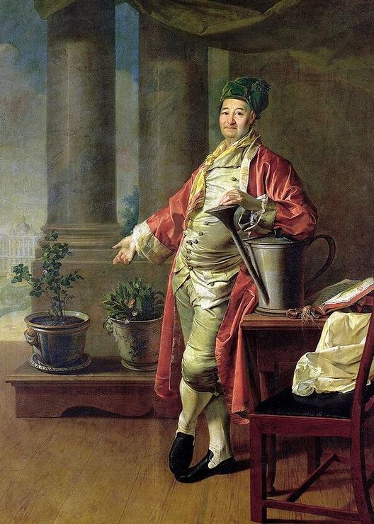 009_Дмитрий Григорьевич Левицкий Портрет П.А. Демидова. 1773 г.
