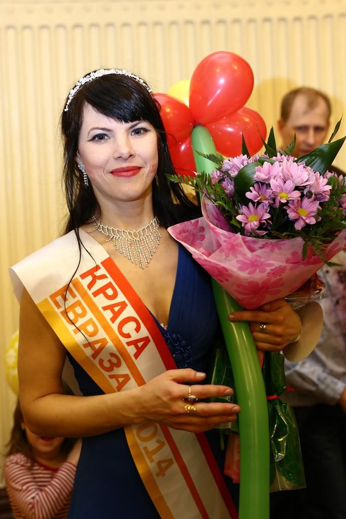 Мария Кожевникова,победительница конкурса «Краса ЕВРАЗа - 2014»