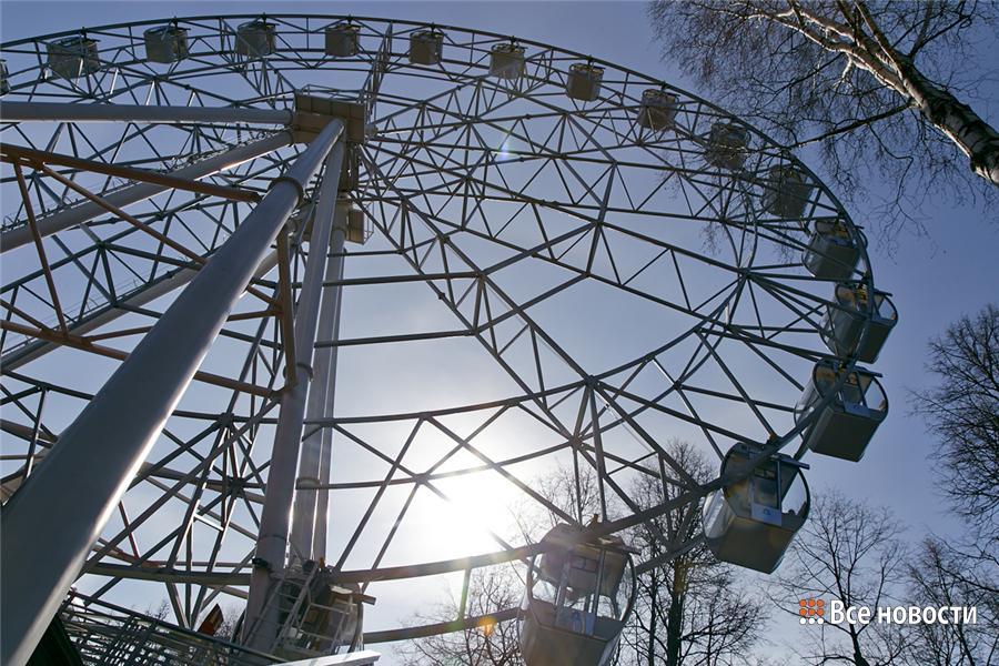 колесо, парк Горького (4)