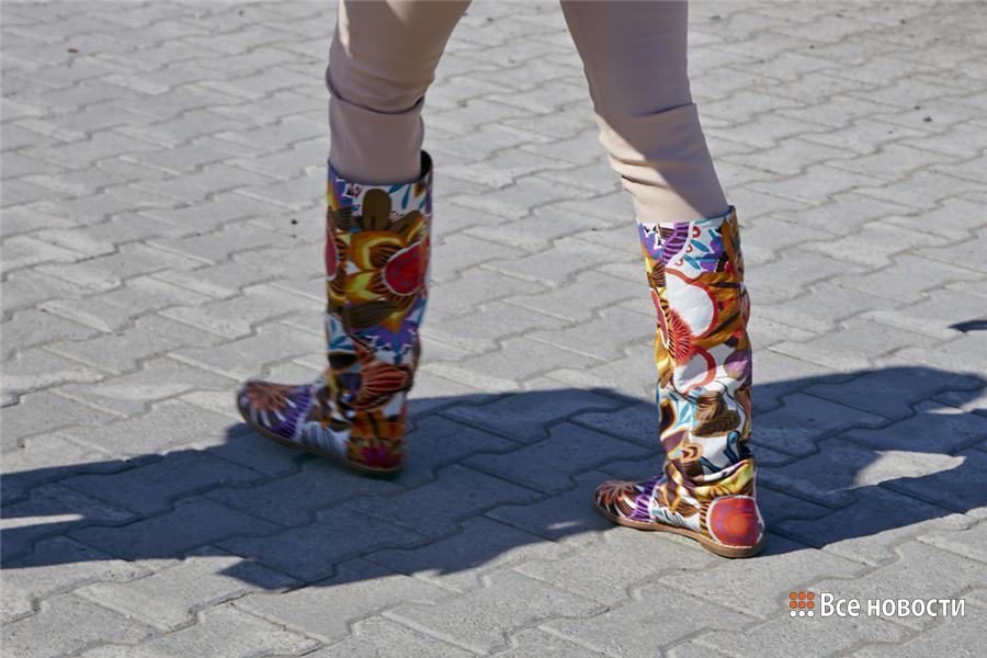 обувь прохожих