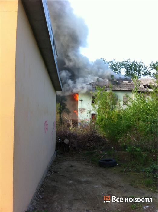 пожар садик