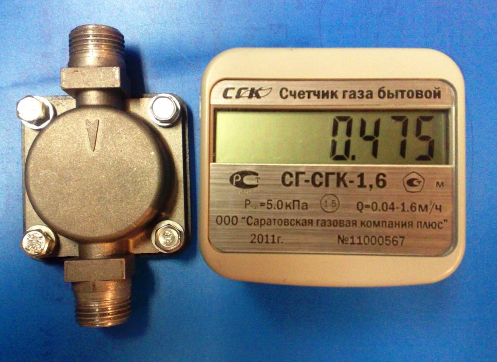 Счетчик газа СГК G-4 (правост.)
