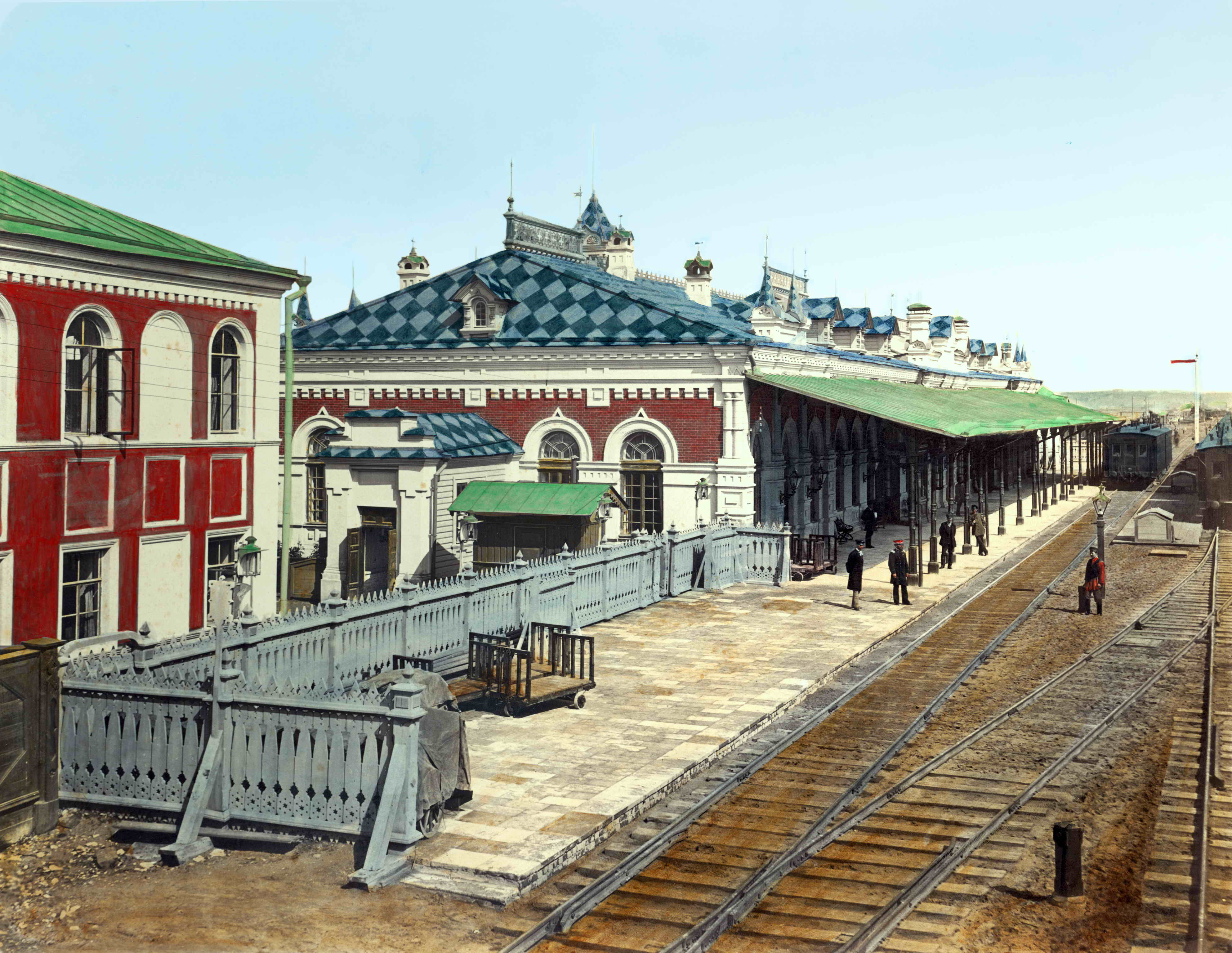 Станция Пермь