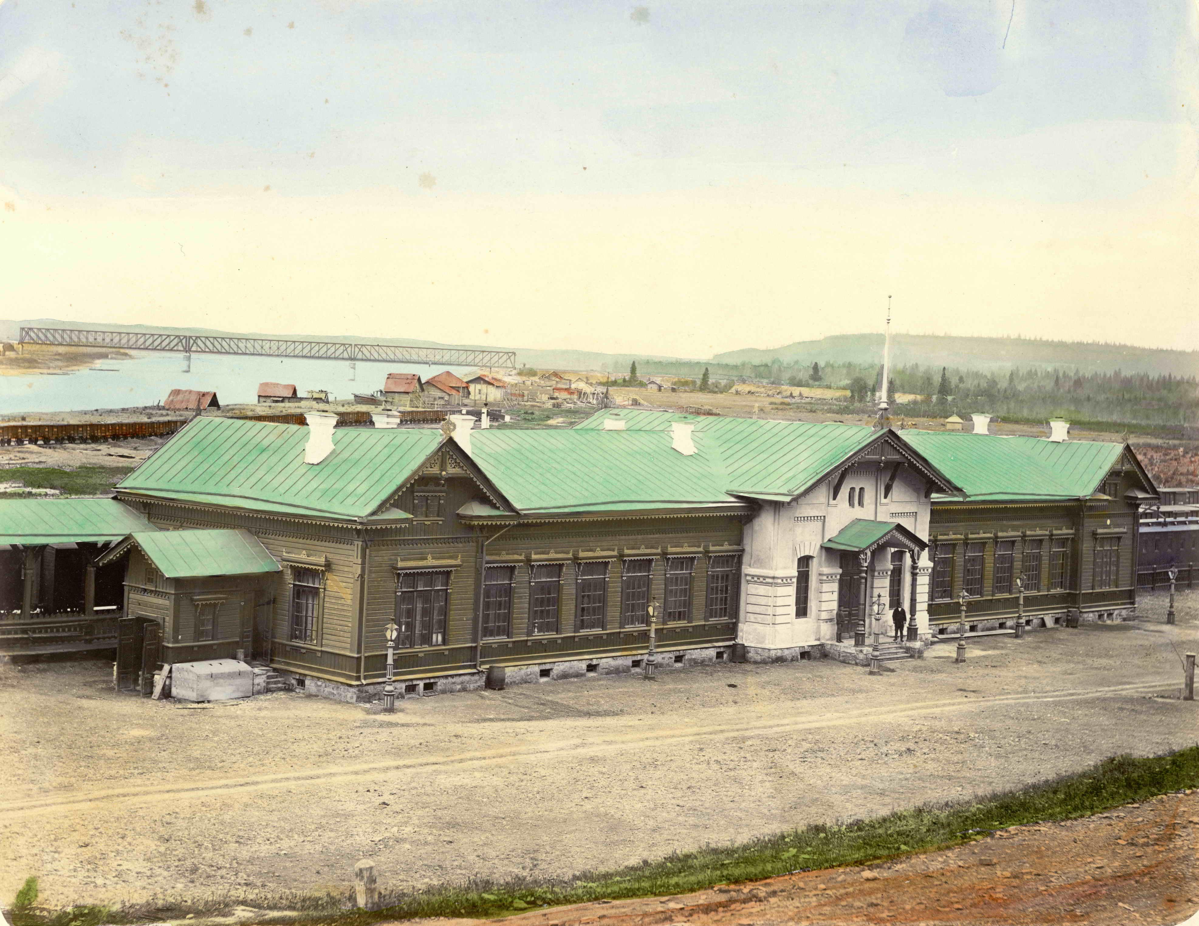 Станция Чусовская