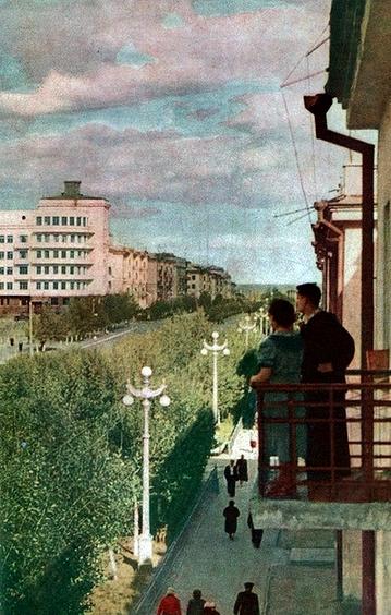 Проспект Вагоностроителей (репр. с фото неизв. авт.)