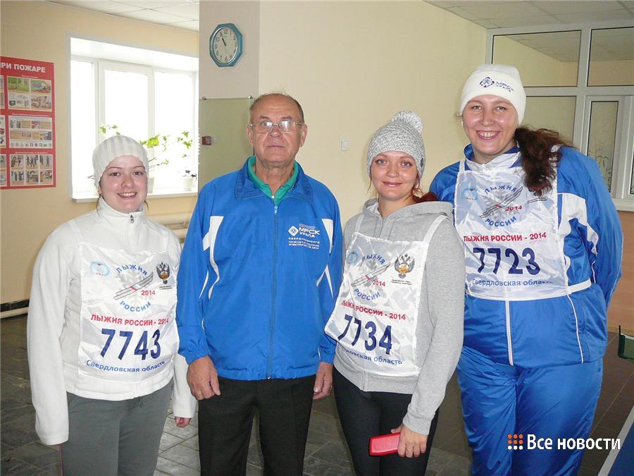 Геннадий Парфёнов с участниками турнира