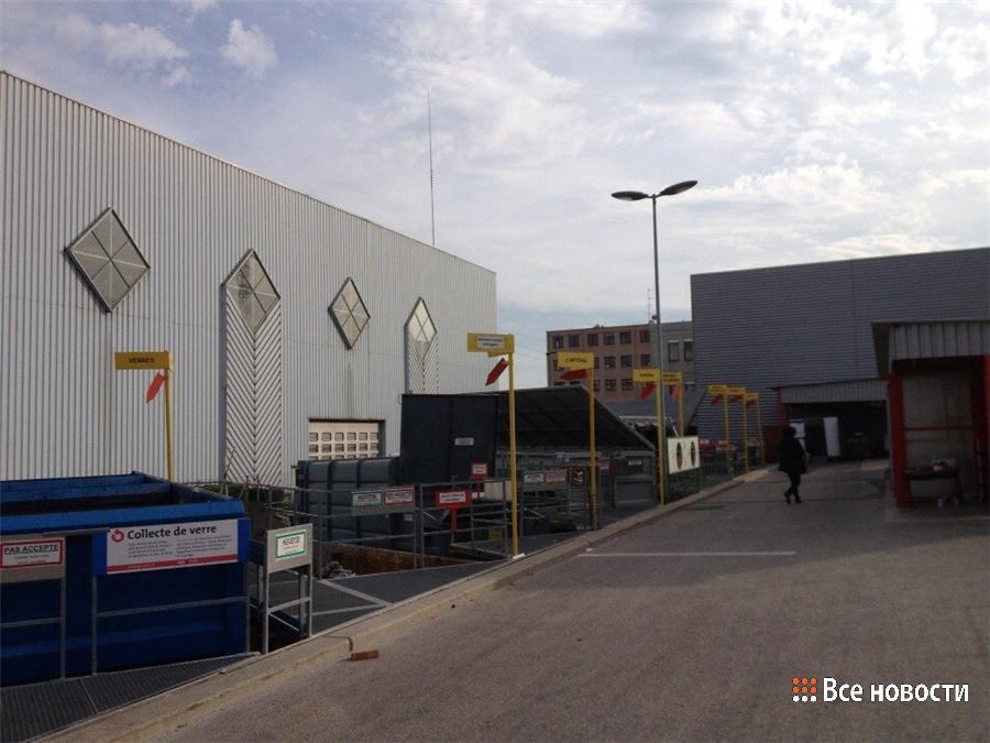 Мусоросортировочный завод в Швейцарии