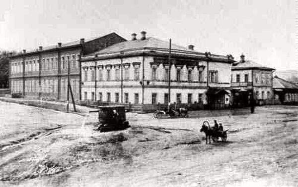 Павло-Анатольская женская гимназия (фото начала XX в.)