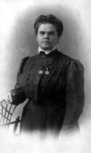 Людмила Михайловна Кларк, начальница гимназии 1905-19 гг.