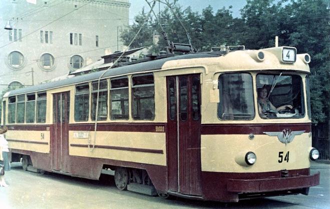 Вагон ЛМ-57 производства Ленинградского ВАРЗ