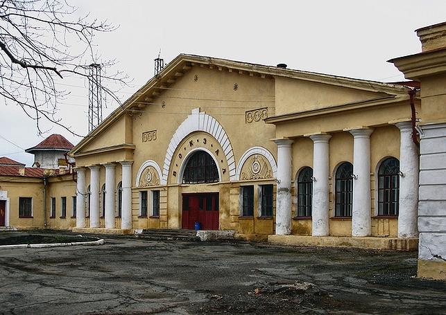 Здание вокзала на станции «Гороблагодатская» (фото 2000-х гг.)