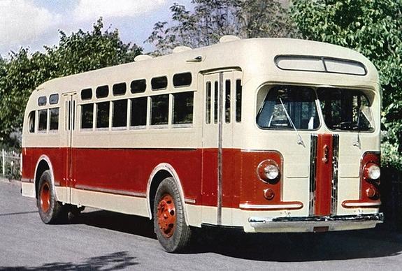 Автобусы ЗИС-154/155