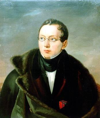 Александр Всеволодович Всеволожский (худ. В. А. Тропинин, 1830 г.)