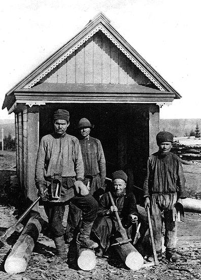 Забойщики у шахты копи «Жонес №2» (фото 1903 г.)