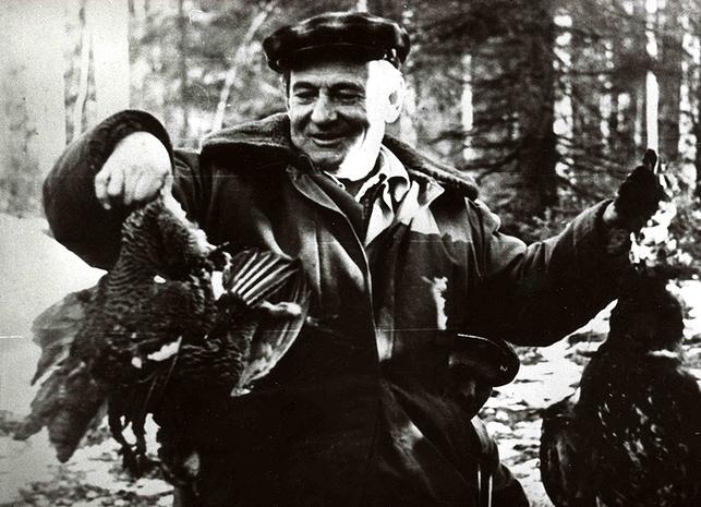 Охотничьи трофеи(фото 80-х г.)