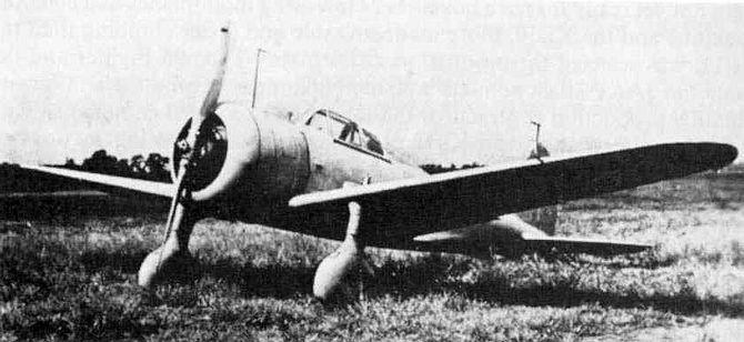 Японский истребитель Ki-27 (или И-97)