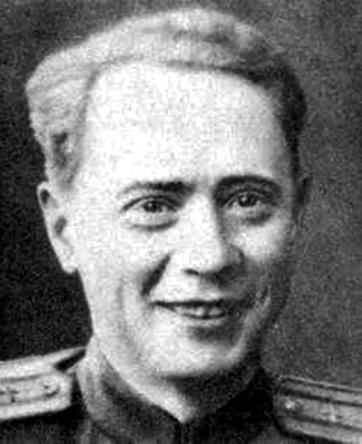 Лётчик-истребитель П. А. Пологов (фото 1942 г.)