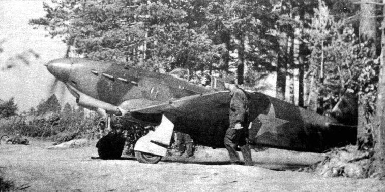 Советский истребитель Як-1