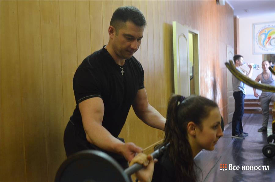 Родион Нургалиев на тренировке