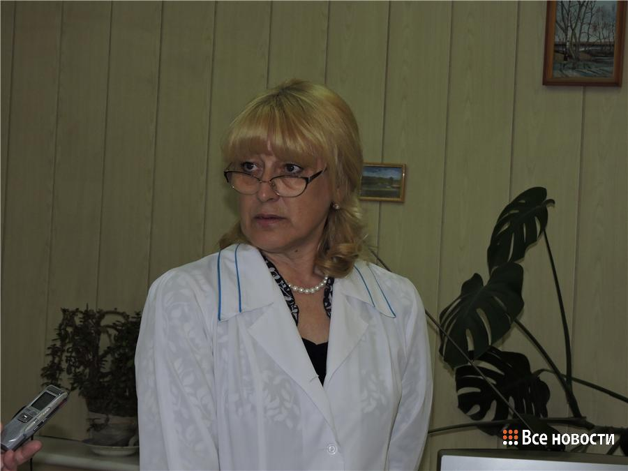 старшая медсестра поликлиники Наталья Скутина