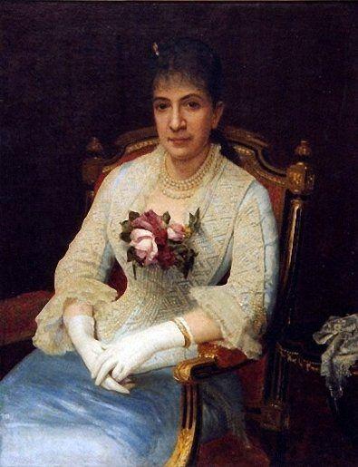 Иван Крамской «Женский портрет. Актриса М. Г. Савина». 1880 г. (из коллекции НТМИИ)