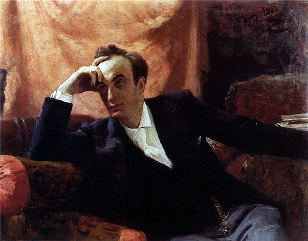 Илья Репин «Портрет Г. Г. Ге». 1895 г. (из коллекции НТМИИ)