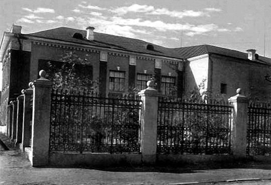 Здание Нижнетагильского музея изобразительных искусств (фото 40-х гг.)