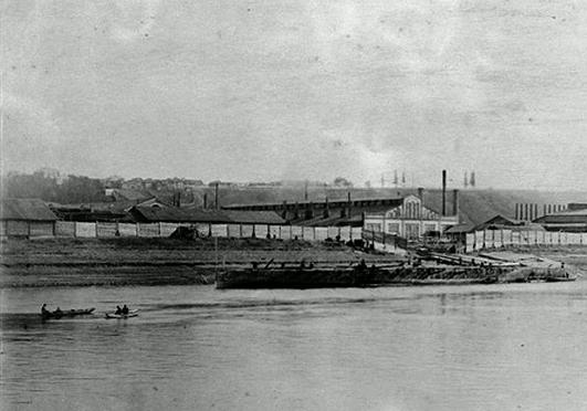 Григоровский рудник в Соликамске (фото конца XIX в.)