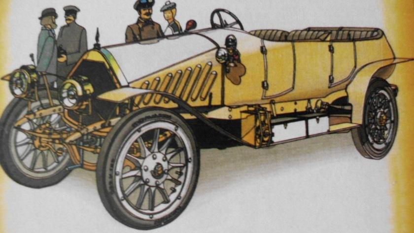 Автомобиль Пузырёва, 1912 год