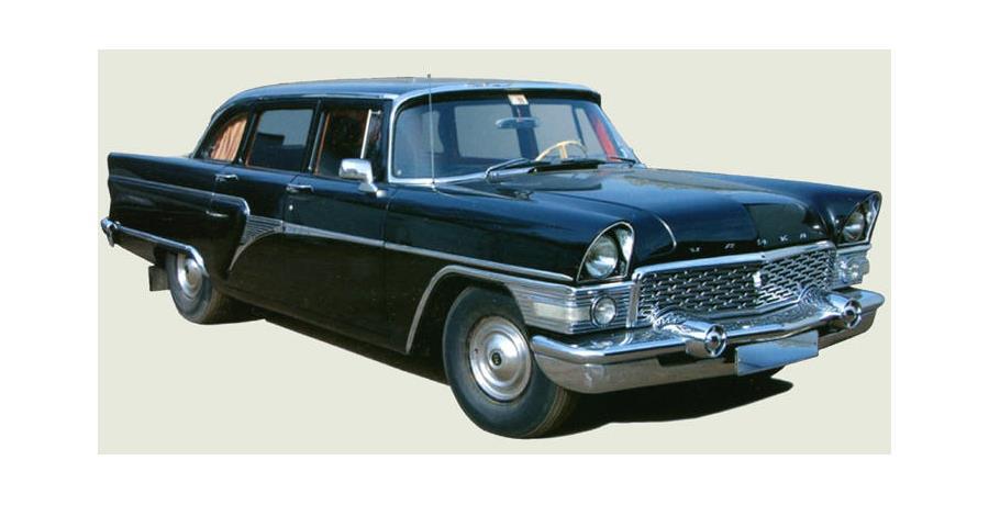 ГАЗ-13 «Чайка» выпускался с 1959 по 1979 годы.