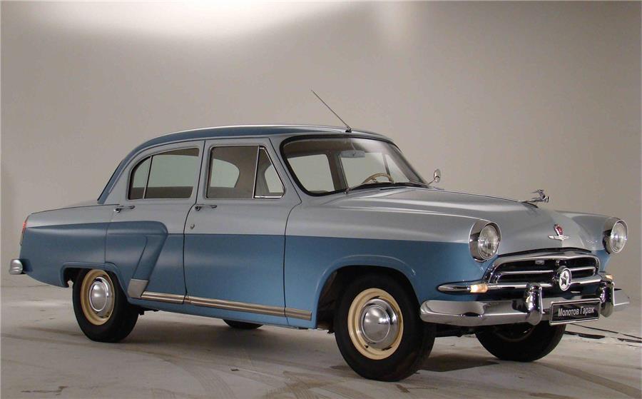 ГАЗ-21 – главный автомобиль 60-х годов