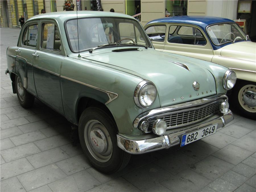 Москвич-402, выпускался с 1956 по 1958 годы