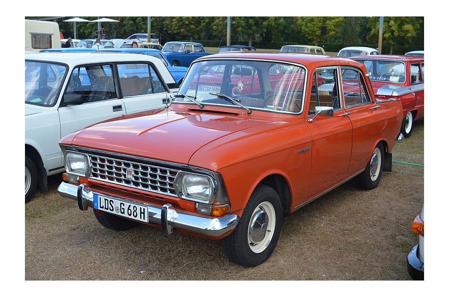 Москвич-412 – легендарный автомобиль, выпускался до 2001 года.