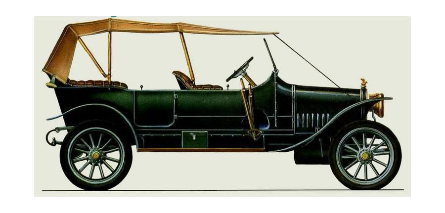Руссо-Балт К-12-20, 1911 год