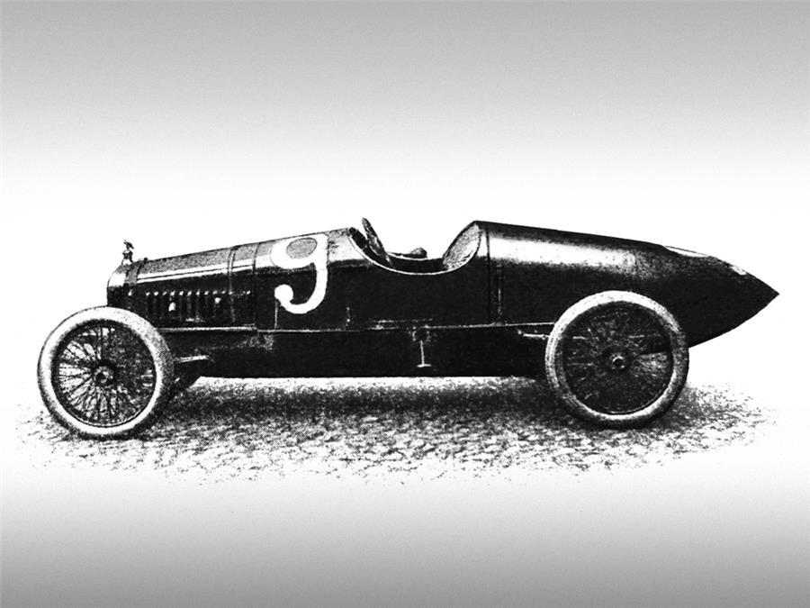 Руссо-Балт С24-58, 1913 год